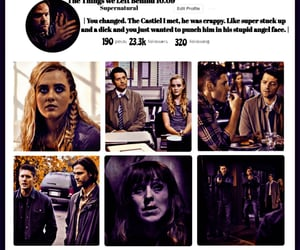 dean winchester, edit, and season 10 image