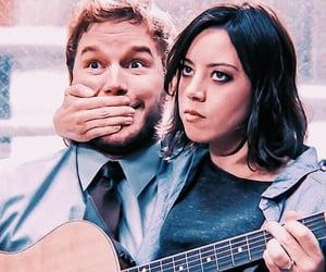 couples, glee, and rachel green image
