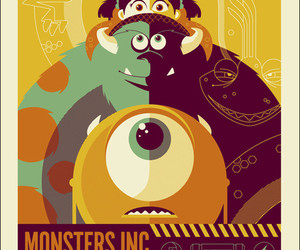 monsters inc, disney, and monster image