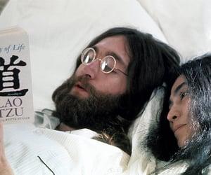 john lennon, Yoko Ono, and book image