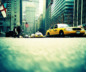 cars and new york city image