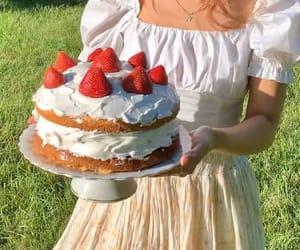 aesthetic, cottagecore, and cake image