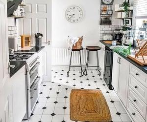 interior, kitchen, and kitchen interior image