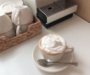 aesthetic, whipped cream, and love image