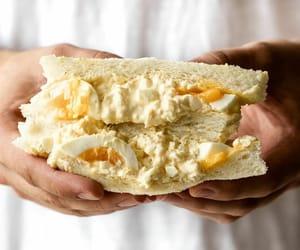 sandwich, sandwihc, and japanese egg salad image