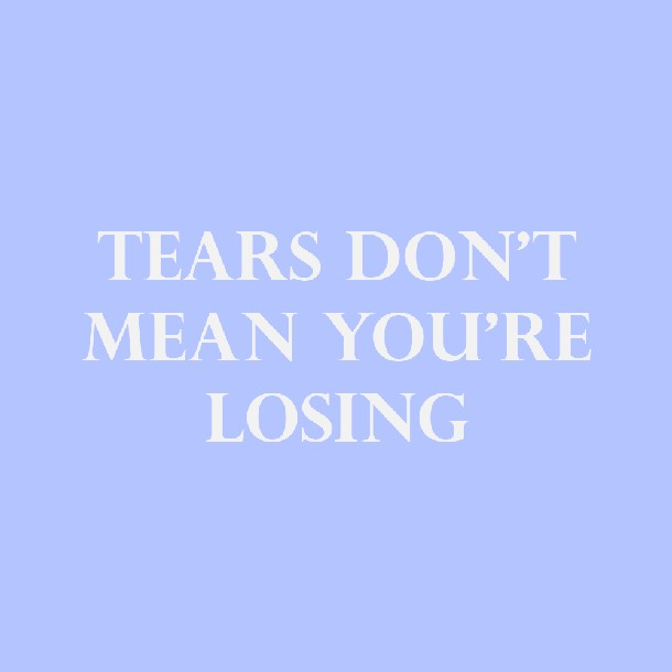 blue, crying, and motivating image