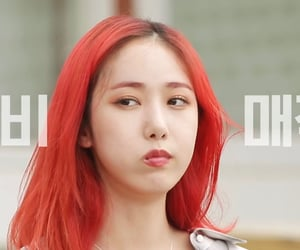 kpop, sinb, and gfriend image
