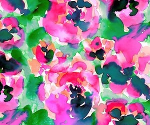 background, colorful, and floral wallpaper image