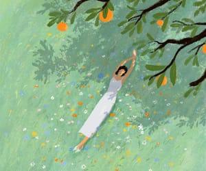 art, illustration, and summer image