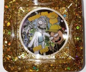 ashtray, epoxy, and rick image