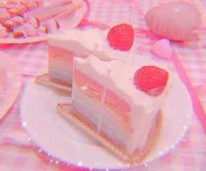 aesthetic, soft pink, and pink theme image