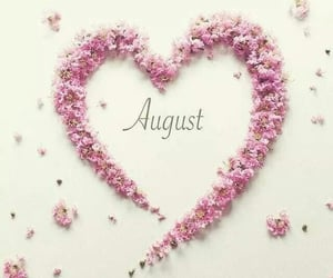 August, months, and welcome image
