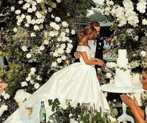 wedding, bride, and fashion image