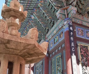 buddhism, culture, and seoul image