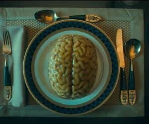 brain, creepy, and dinner image