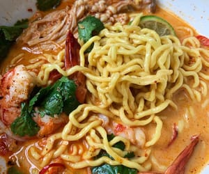 noodles, ramen, and thai food image