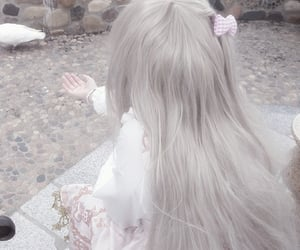 aesthetic, blonde, and cute image