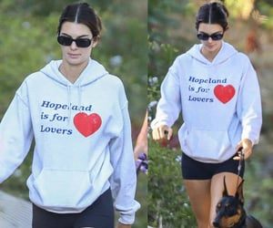 August 1, 2020 - Kendall seen hiking in Malibu with her dad and a friend.