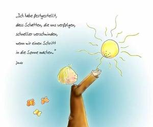 deutsch, Sonne, and text image