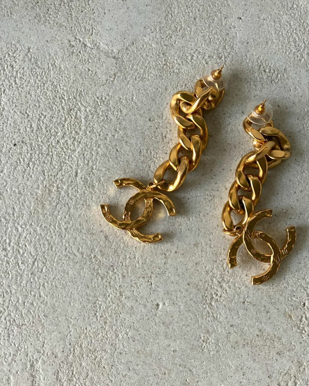 chanel, accessories, and earrings image