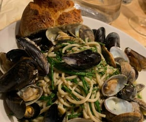 clams, food, and foodie image