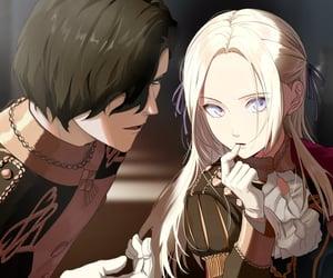 anime, couple, and fantasy image