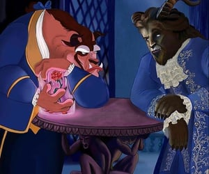 adam, art, and beauty and the beast image