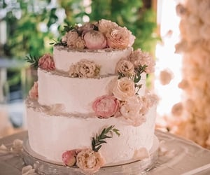 birthday cake, flower, and gorgeous image
