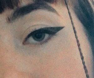 alt, eyeliner, and wallpaper image
