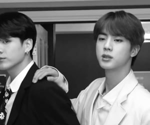 bts, jungkook, and seokjin image