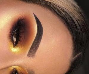 eyeshadow, fashionable, eyes and makeup