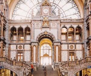 belgium and railway station image