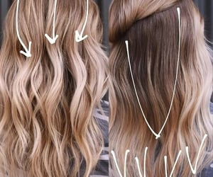 hair extensions, flattering haircut, and shoulder hair length image