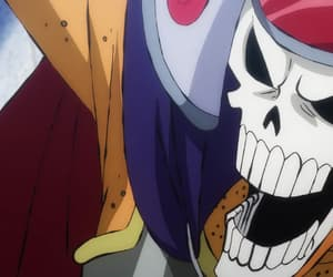 anime, brook, and one piece image