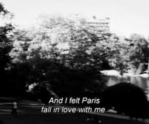 black and white, paris, and quotes image