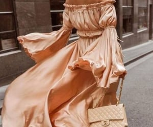 chanel, metallic, and purse image