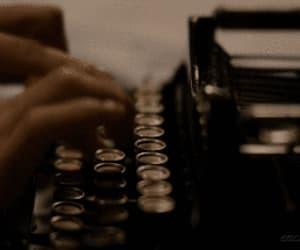 aesthetic, gif, and typewriter image
