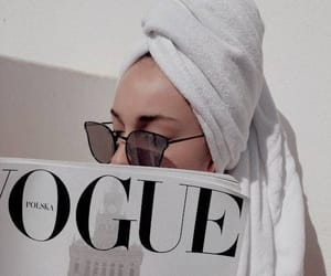 vogue, white, and aesthetic image