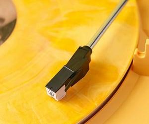yellow, aesthetics, and music image
