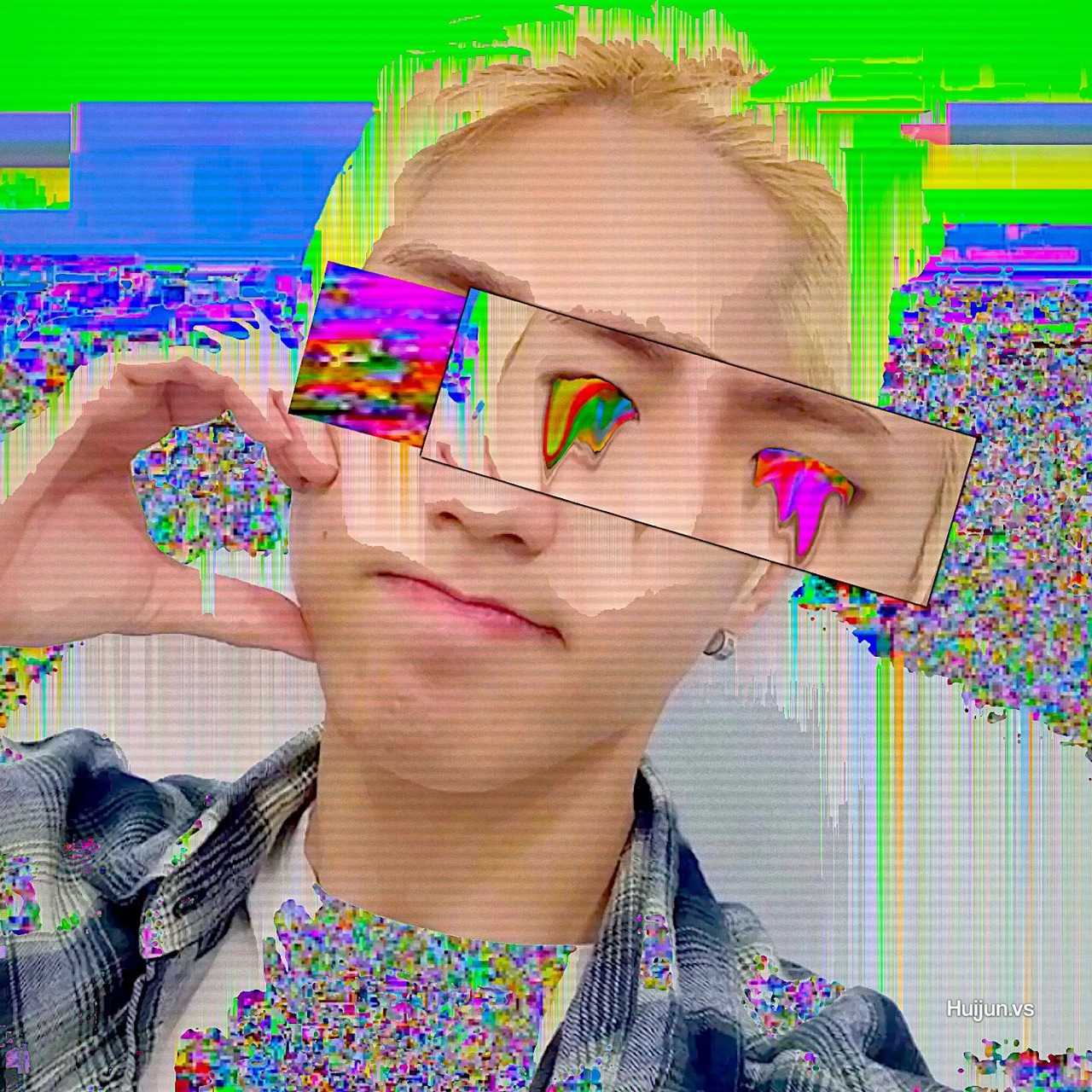 colourful, cyber, and edit image