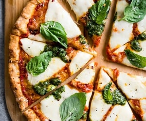 gluten free, crust, and pizza image