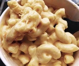 food, macaroni, and pasta image