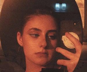 aesthetics, mirror, and mirror selfie image