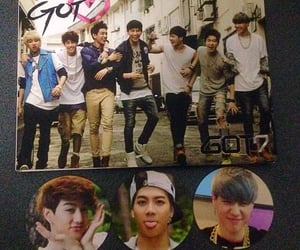 album, got7, and photocards image