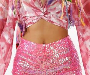 fashion, hot pants, and pink image