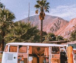 travel, vintage, and van image
