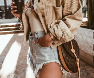 blogger, coffee, and fashion image