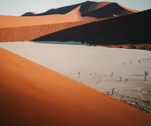 desert, mountains, and namibia image