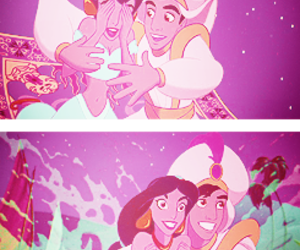 aladdin, disney, and cute image