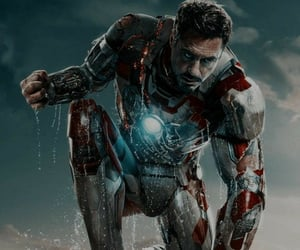 Avengers, marvel comics, and iron man image